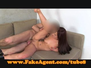 FakeAgent Cute amateur wants porn career