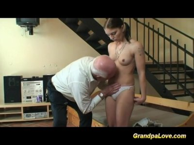 Porno Video of Grandpa In Love With Young Teen