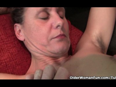 Porno Video of Granny Gets Her Hard Nipples And Hairy Pussy Fondled By Photographer