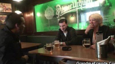 having fun with two guys