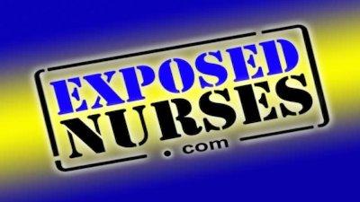 Nasty nurse uniform Gabina dildo masturbation