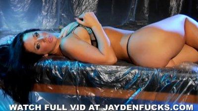 Jayden Jaymes Fucks in Rain