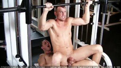 Gym Fuck John Magnum