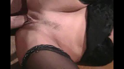 Lusty busty chick nailed in threesome