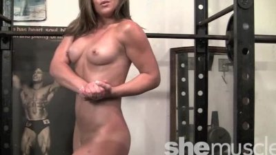 Flexible Gym Fun Fitness Hottie