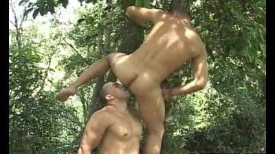 Hot and horny latino anal fucking