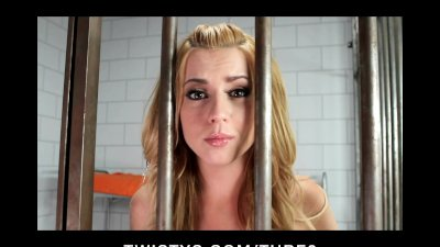 HOT Lexi Belle fingers her tight pussy to get out of jail free