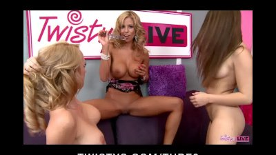 TWISTYS LIVE SHOWS PORNSTARS Nicole Graves, Sabrina Maree and Taylor Vixen
