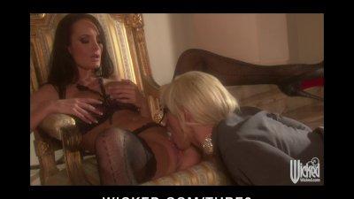 Hot Bigtit Pornstars Alektra Blue Tanya Tate fuck their pussies