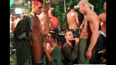 Group of hot drunk guys part6