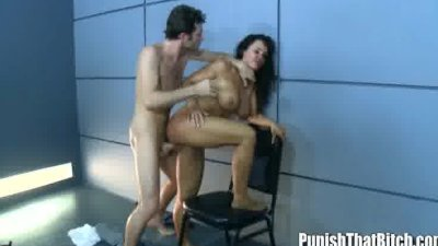 Doggystyle Anal Pounding Punishment for Lisa Ann