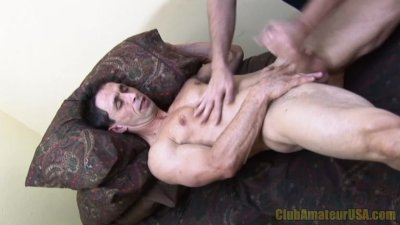 Casey Black Blows Brenner's Load
