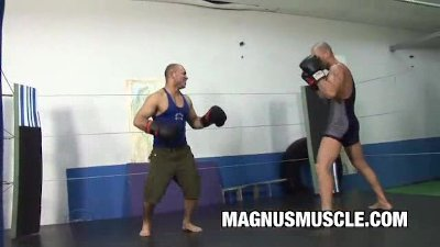 Boxing Buddies Gay Sex Practice