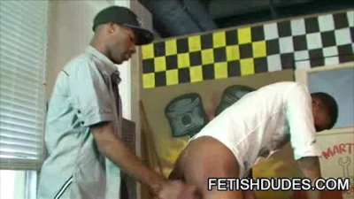 Black dude Blaine Everett getting his ass spanked