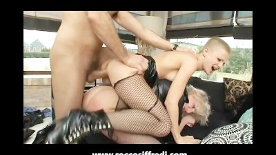 Dominatrix Gets Fucked Hard