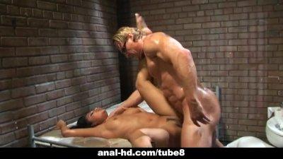 Jasmine and Taylor Rain prison fucking action