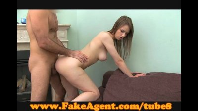 FakeAgent Shy girl, hairy bush