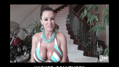WICKED presents Bigtit MILF Pornstar LISA ANN Behind the Scenes