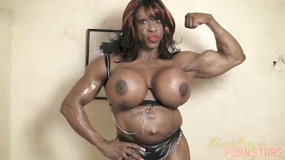 Yvette Bova Flexes and Strips