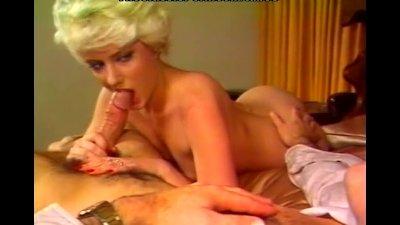 Blonde nicely treating hard dick