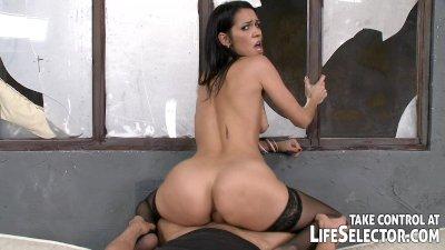 Jail ward fucks sexy inmates and his female boss too