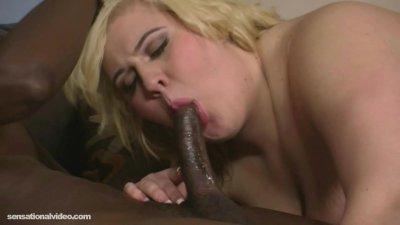 Amazon Slut Skye Sinn DeepThroat N Swallow Big Black Cock