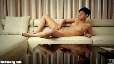Webyoung Petite Coco Strips and Strokes Herself