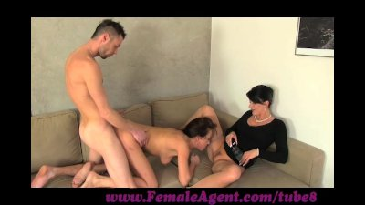 FemaleAgent. Jealous casting won't share her fiance