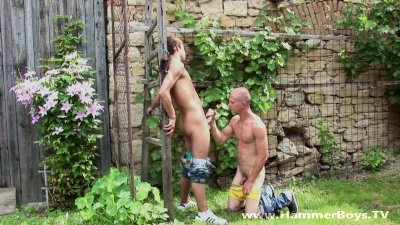 Desire of Summer Ricco Luna and Blond Denis Ruso Hammerboys