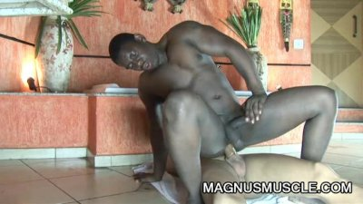 A Steamy Gay Interracial Fucking From Robert Gaucho And Hunter Corbin