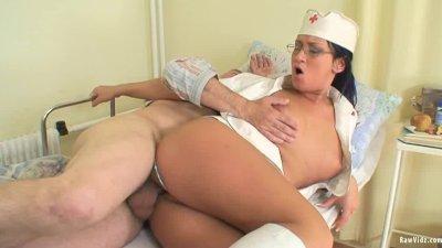Old Man's And Nubile Nurse Fuck