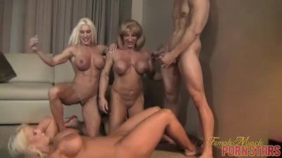 Reverse Gangbang With Ashlee Chambers, Wild Kat, Amazon Alura 2 of 2