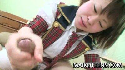 Mayu Nakane - Youthful Japanese Enjoying Hard Cock
