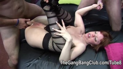 Short mature and milf are group fucked