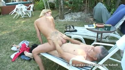 Latino Slut Victoria White Gets Fucked By a Man Twice Her Age and Loves It