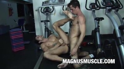 Apollo Max and Fernando St Clair: Buff Buddies Rectal Exercise