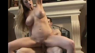 Busty Abby Rode Cock Sucks And Gets Fucked!