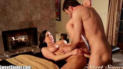 SweetSinner James Deen Massages MILF with Happy Ending