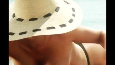 Demetra Hampton and Sabrina Ferilli - Nude scene compilation from Valentina