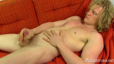 Blonde Straight Shane Masturbating