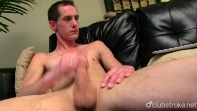 Very Horny Straight Sebastian Masturbating