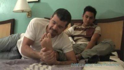 Enrique's Feet - Mike and Enrique