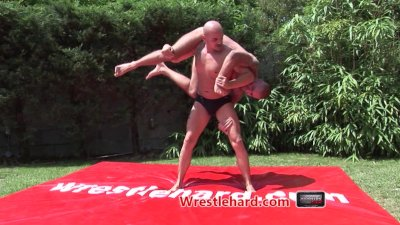 Wrestlehard gay wrestling Atilius vs Ricky
