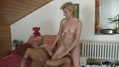 He gets pleased by mother-in-law