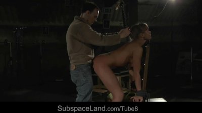 Fleshy hot slave captive in the lust for sexual pleasures