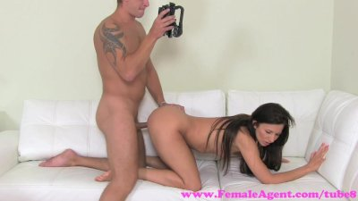FemaleAgent. Stud fucks and fails in securing work with MILF agent