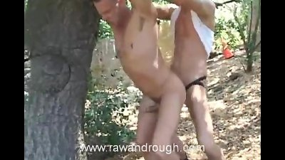 Jed Tied Up and Fucked