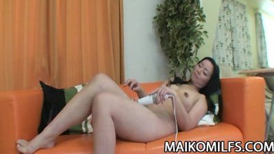 Takako Nishazawa - Japanese Cougar Gorging On Young Dick