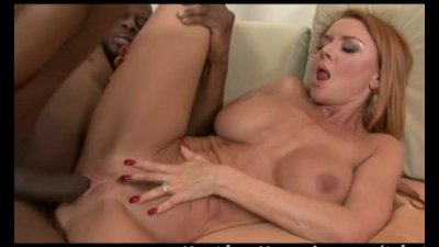 Blonde MILF gets fucked at the