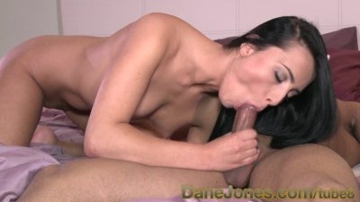 DaneJones Slim raven haired beauty passionate sex